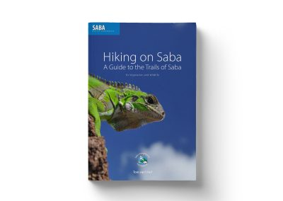 Hiking on Saba boek